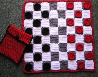 CHECKERS SET PDF Crochet pattern