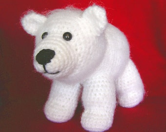POLAR BEAR MOM  Pdf Crochet Pattern