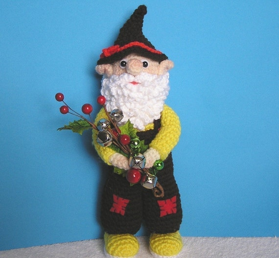 GARDEN GNOME PDF Crochet Pattern