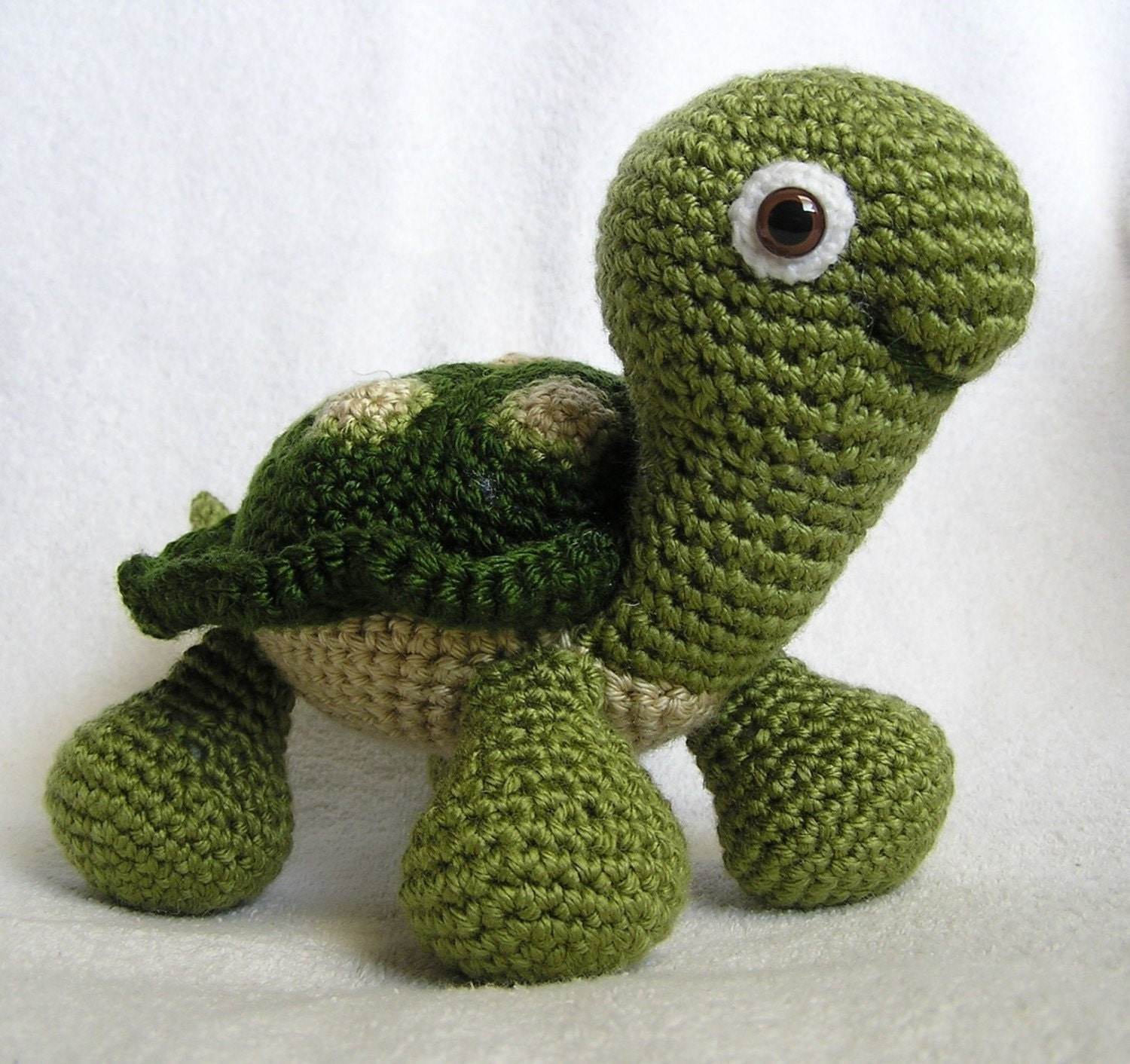 Tunisian Crochet Patterns Baby Free : BABY TURTLE PDF Crochet Pattern