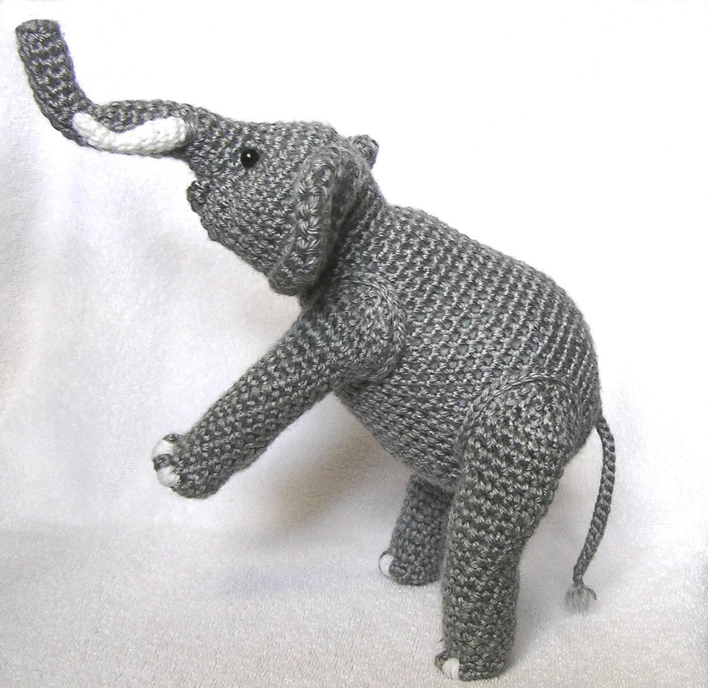 Pdf Crochet Pattern Elephant