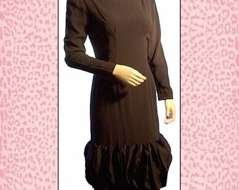 Audrey 60s Little Black Dress