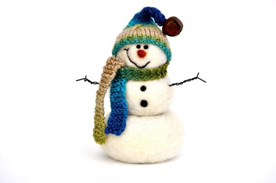 Snowman, Needle Felted Snowmen 82
