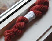 Hand-dyed yarn - worsted weight