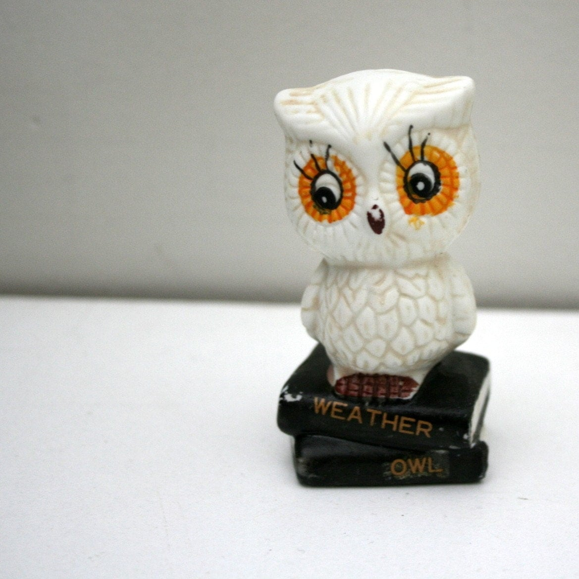 Little Wise Old Weather Owl Figure