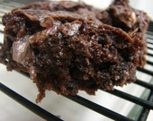 Perfect Mint or Peppermint Brownies (vegan)