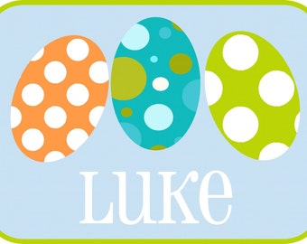 Easter Egg Personalized Boy Shirt