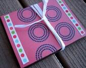 polka mod notecards - set of 5