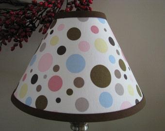 lamp shade Polka dot lamp shade twins nursery