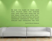 Emerson Quote Words Home Wall Decor Decal