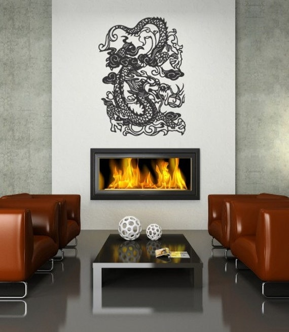 Chinese dragon asian home decor wall decor art for Asian home decor