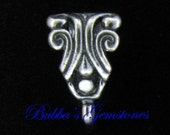 Bali Sterling Silver Bail with Fountain Design