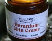 Geranium Skin Creme 4 oz