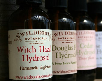 Wildcrafted Aromatherapy Floral Water Gift Set.....Enjoy any 5 of our organic and ethically wildcrafted hydrosols at a discount.