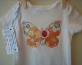 Watercolor Butterfly Bodysuit- You pick the size