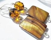 SALE-Brandy Drop Earrings