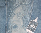 Jean Therapy - Do Your Own Bleach Art - Paint or Stencil