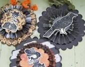 Vintage  Halloween Decoration Vintage Inspired Halloween Ornaments