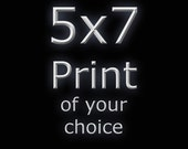 """5x7 or 5x5"""" print of your choice. Any print in my etsy shop can be had as a 5x7 or 5x5"""" print signed and dated."""
