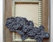 PDF pattern Crochet free form bracelet Flower fantasy No 16.