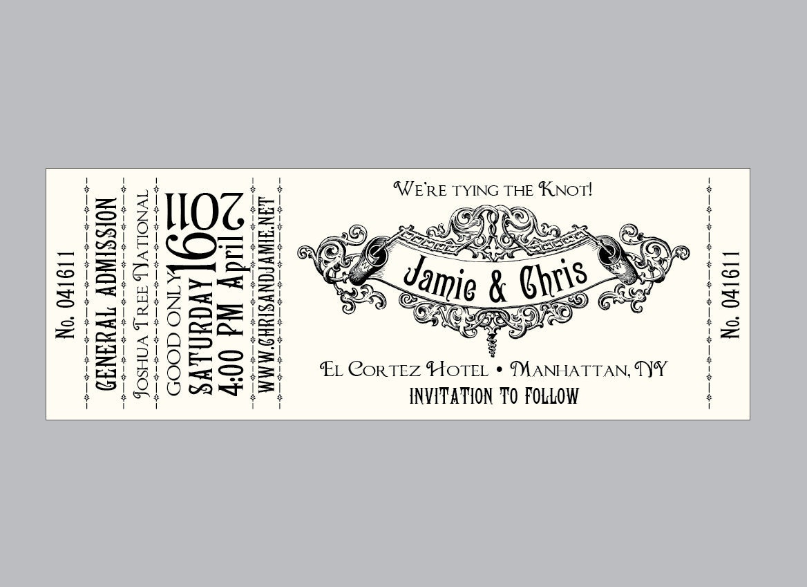concert ticket template images