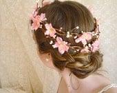 sakura dreams - a cherry blossom crown