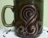 SALE 25 percent off Funky Vintage Mug from England