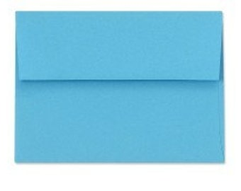 Blue Envelopes - Set of 225 Ocean A7 Envelopes - Perfect for 5x7 Photos and Cards