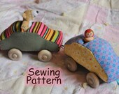 Soft Linkable Car PDF Sewing Pattern