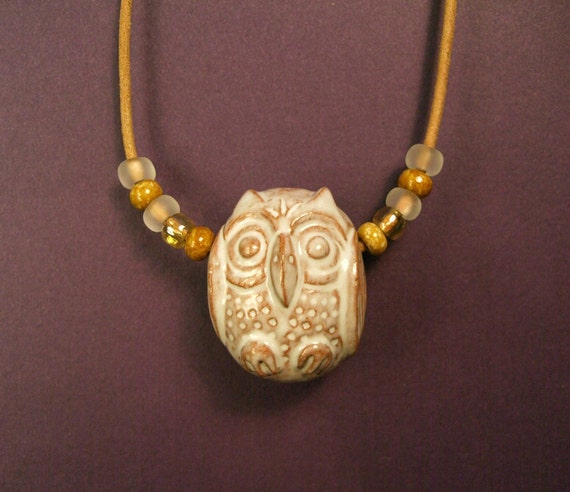 Owl Bead Necklace