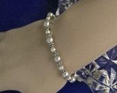 The Alliah Sterling Silver Swaroski Pearls Bracelet FREE SHIPPING
