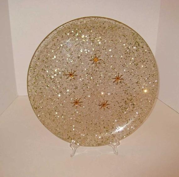 Large Vintage Stars Platter