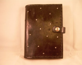 Starry Starry Night Leather Journal Cover