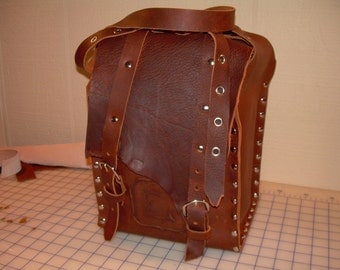 Gorgeous Leather Wine Tote Bag