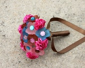 SALE: Flower Girl 3D and Carnation Button Bouquet