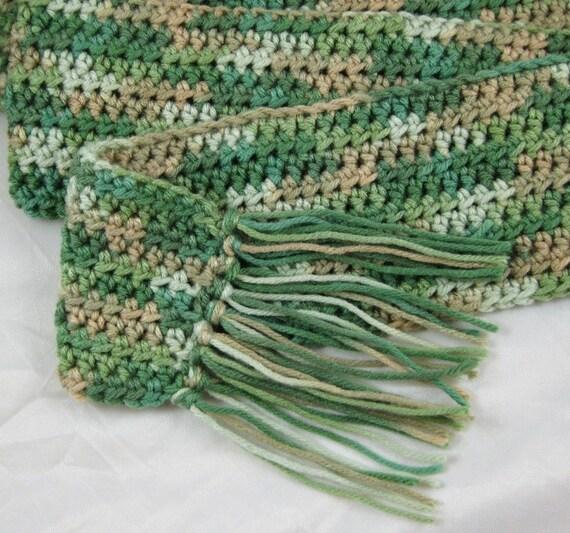 Urban Kids Bernat Camo Crochet Scarf Baby Ii