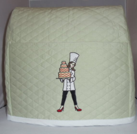 Sage Mixer Cover with Lady Baker/Chef