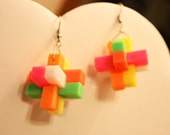 Futuristic Pixelpop Earrings