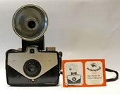 Vintage Sawyers Nomad 620 Camera, Flash Unit, Instruction Booklet and Original Boxes SALE