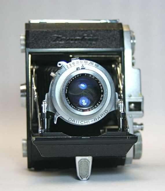 Vintage Zenobia Folding Camera for 120 film photography SALE