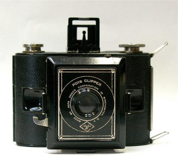 Vintage Agfa/Ansco PD 16 Clipper Film Camera  1938  SALE
