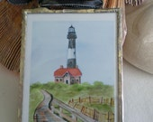 Soldered Ornament - Fire Island Lighthouse