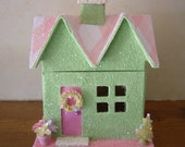 Small Easter Village House