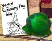 12 EXPLODING FROG soaps(tm) with Card Tags Attached - Great for Party Favors - Harry Potter Fans
