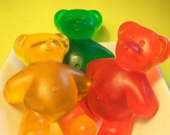 GIANT Gummy Bear Soap - Get well gift - Birthday gift