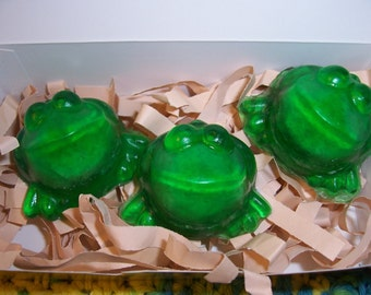 Exploding Frog Soap with Gift Card Tag Attached - So Magical
