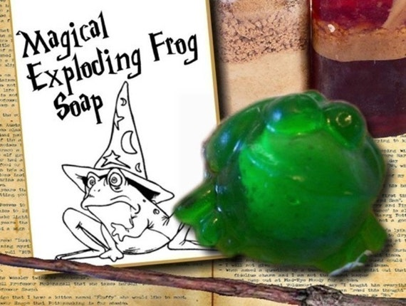 Wizard Party Favors - 15 Exploding Frog Soap Party Favors