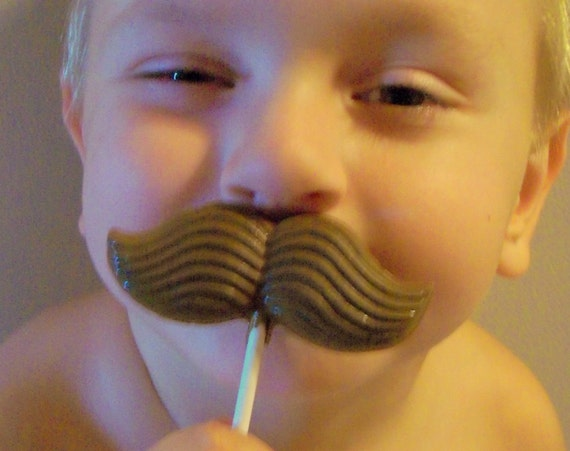Mustache Soap Party Favors - Set of 10 - Cowboy Party - Boy Birthday - Pizza Party