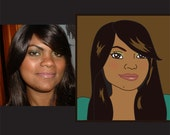 EXCLUSIVE RIGHTS Custom Caricature - simple cartoon style