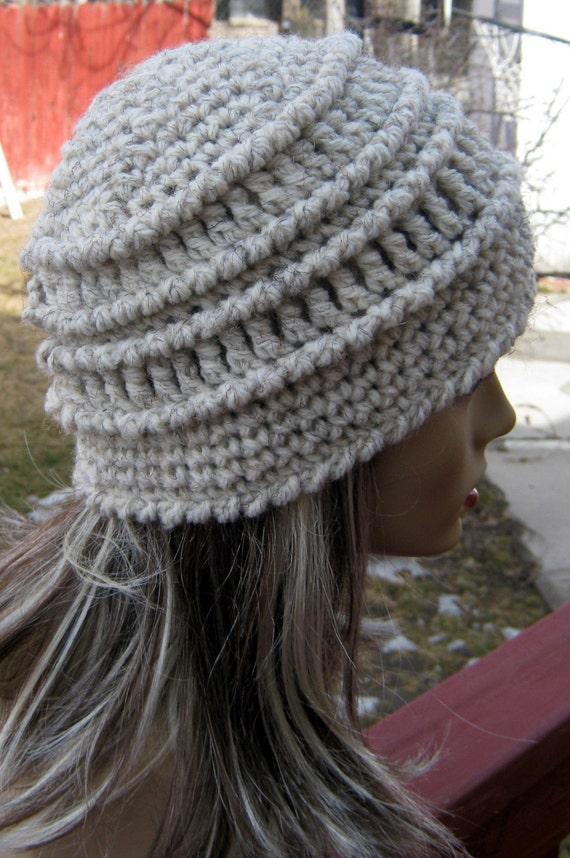 PDF Pattern Chunky Textured Crochet Beanie by yarnlovertn ...